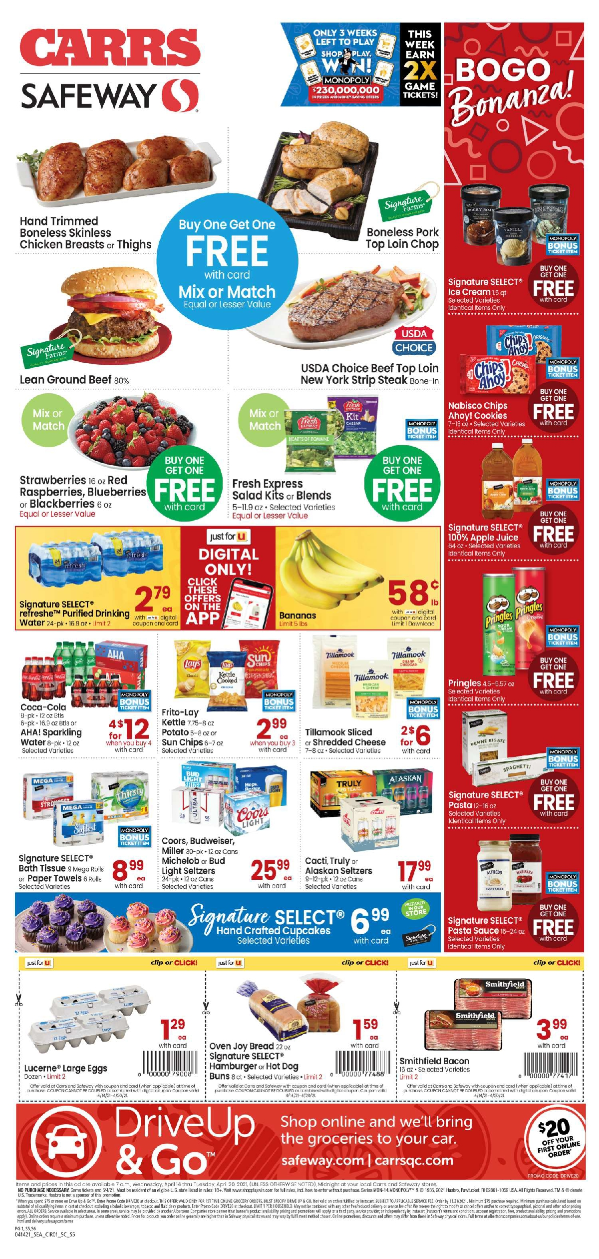 Carrs Anchorage Weekly Ad 4/14/21 – 4/20/21 Sneak Peek Preview
