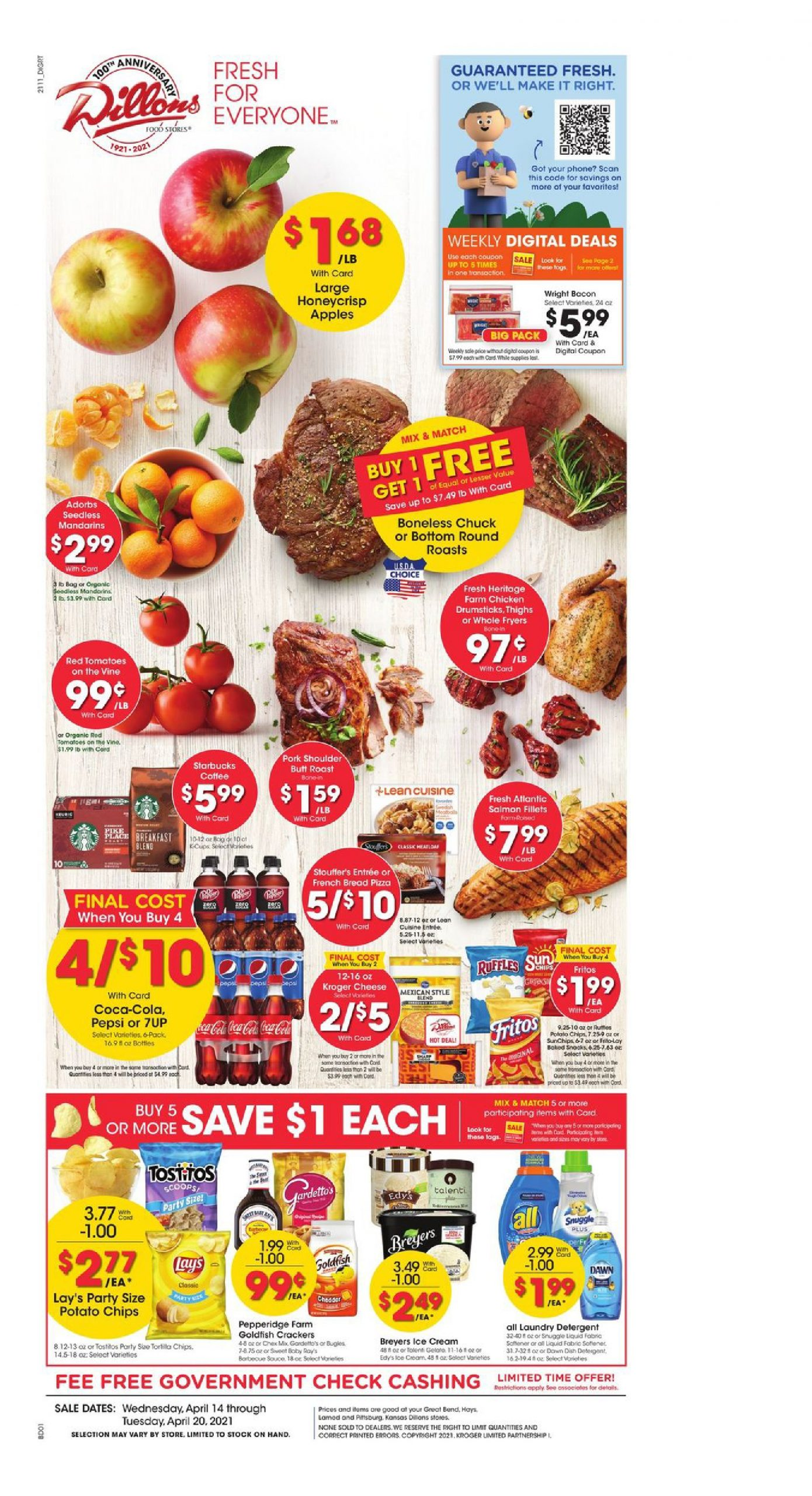 Dillons Weekly Ad Valid Apr 14 – Apr 20, 2021 Sneak Peek Preview