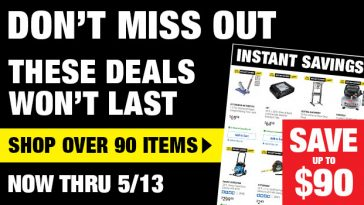 Harbor Freight Monthly Ad Thru May 13, 2021 Coupon Deals Without The Coupons