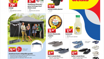 Lidl Weekend Deals May 29 - May 30, 2021