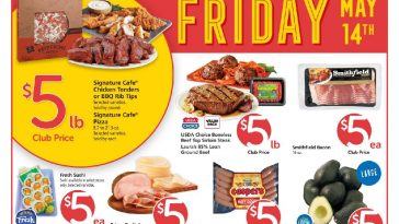 Safeway $5 Friday Ad May 14th, 2021 Weekend Deals Preview