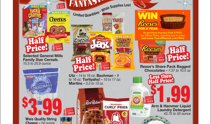 Weis Fantastic Friday Flyer May 14, 2021