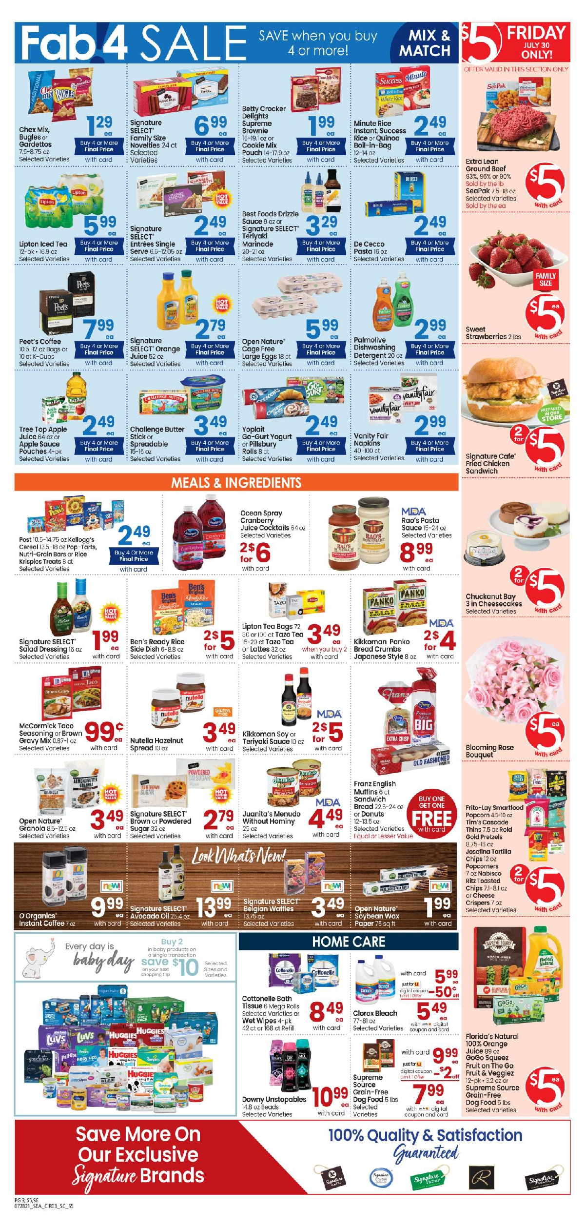 Carrs $5 Friday Ad July 30, 2021 Weekend Sale Preview