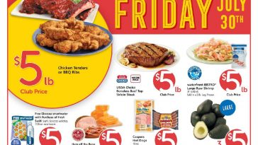 Safeway $5 Friday Ad July 30th, 2021 Weekend Deals Preview