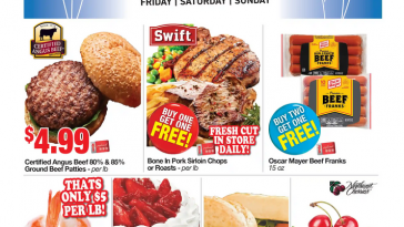 Weis Fantastic Friday Flyer July 23 - July 25, 2021 Three Day Sale