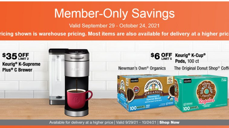 Costco Ad 9/29/21 - 10/24/21 Warehouse Coupons Preview