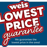 Weis Lowest Price Guarantee August 26 - September 2, 2021