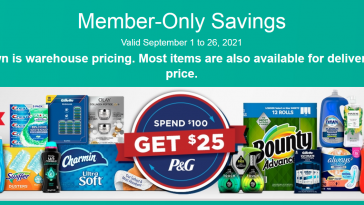 Costco Ad 9/1/21 - 9/26/21 Warehouse Coupons Preview