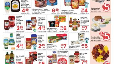Carrs $5 Friday Ad October 15, 2021 Weekend Sale Preview